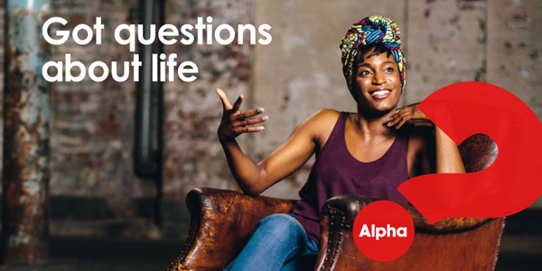 Got questions about life. Alpha